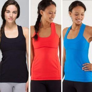 3 lululemon Athletica scoop neck tank tops